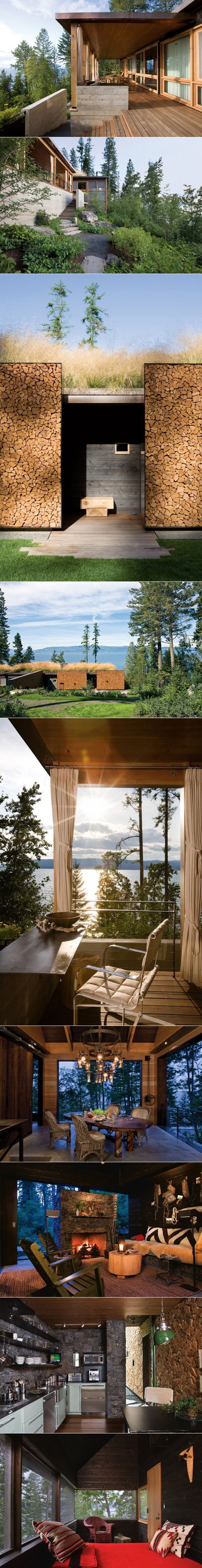 ARCHITECTURE >>> Stone Creek Camp par Andersson Wise