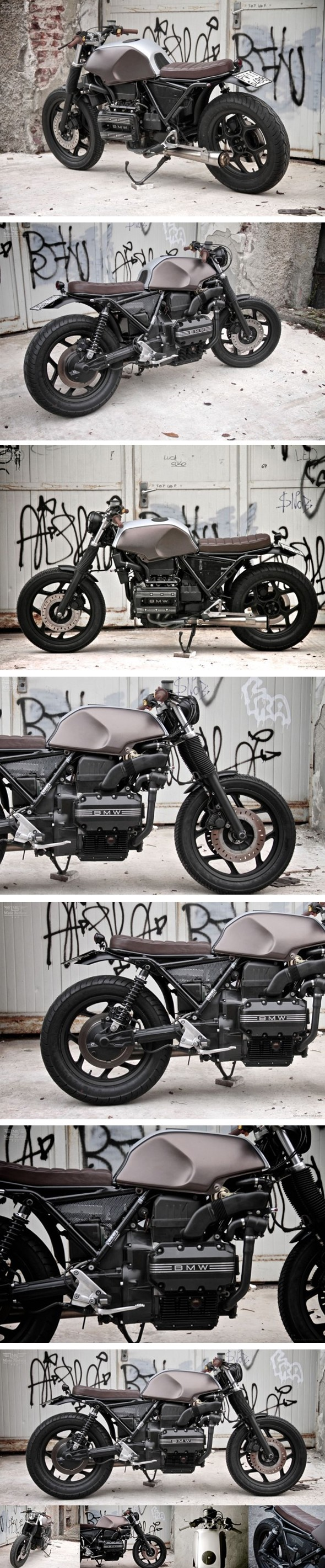 Custom bmw k75 par sumisura journal du design for Garage mecanique bmw