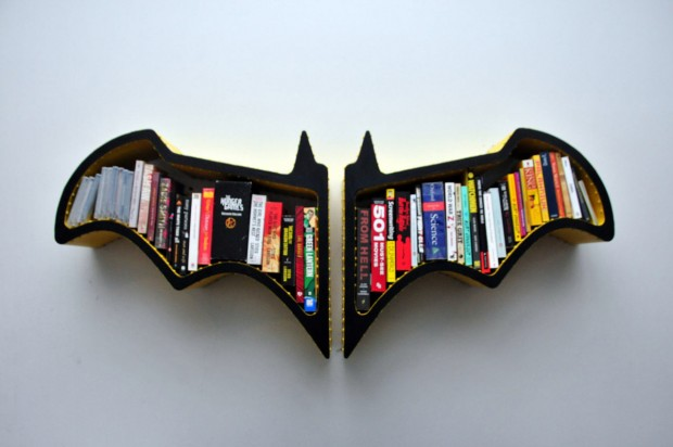 Étagère Batman par FictionFurniture   Journal du Design