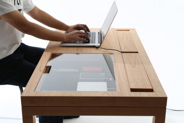 Bureau wt par consentable journal du design