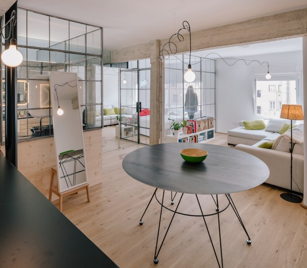 Rénovation d?un appartement à Madrid par Manuel Ocaña