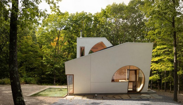 In of Ex House, maison expérimentale par Steven Holl Architects