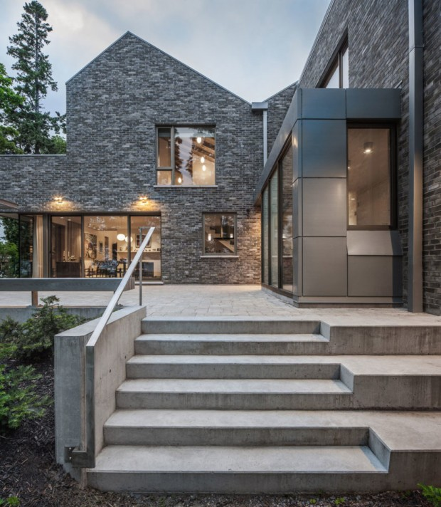 The Cobourg Residence au Canada par Trevor Horne Architects