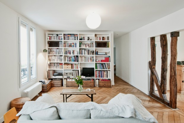Appartement MY, rénovation complète d?un appartement de 100 m2 à Paris par Giulia Rizza