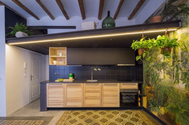 END THE ROC, rénovation d?un appartement à Barcelone par Nook Architects