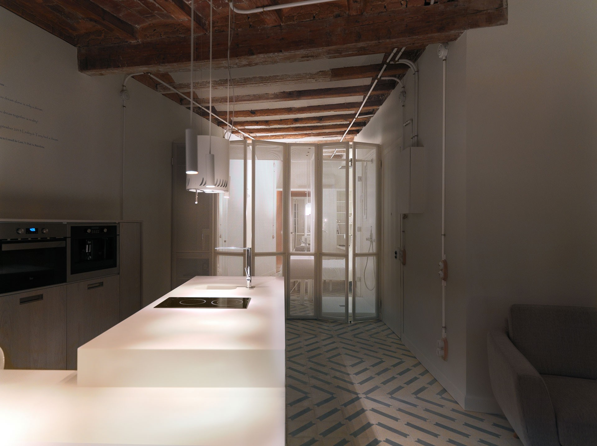 R novation d un appartement de 46 m2 barcelone par for Barcelone architecture contemporaine