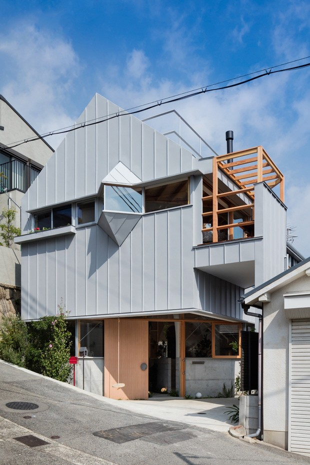 Hat House, maison de 80 m2 au Japon par Fumiaso Architect & Associates