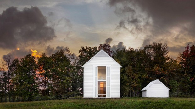 Maison bioclimatique en Pennsylvanie par Cutler Anderson Architects
