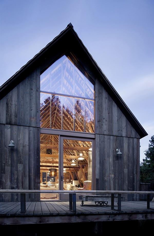 Canyon Barn, transformation d?une grange en habitation par mw|works
