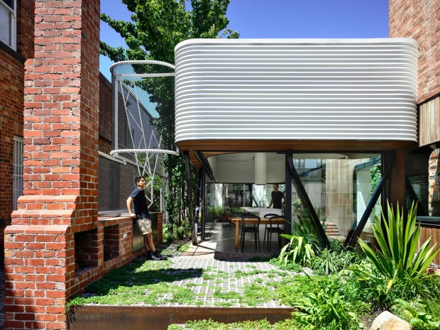 King Bill, rénovation et extension d?une maison à Melbourne par Austin Maynard Architects